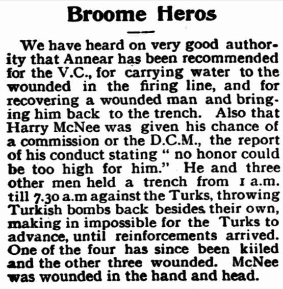 Broome Heroes Annear